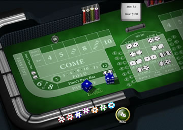 Play craps online at Casino Las Vegas