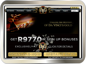 Da Vincis Gold Casino review - Hot i-Slots, bonuses and more