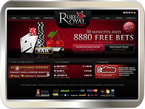 Read our Ruby Royal Casino Review